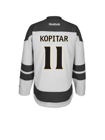Los Angeles Kings 50th Anniversary Youth Anze Kopitar Premier Jersey