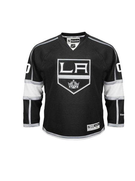 Los Angeles Kings Youth Custom Premier Home Jersey