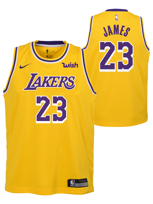 ... canada los angeles lakers youth lebron james icon edition swingman  jersey 2bad0 75fba 4893793c6