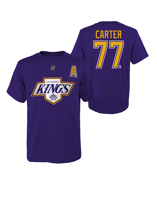 LA Kings Special Edition Youth Jeff Carter Alternate Captain T-Shirt