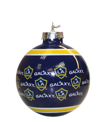 Los Angeles Galaxy Glass Ball Ornament