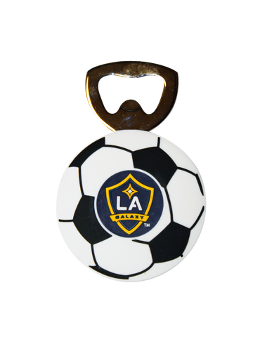 LA Galaxy Soft Rubber Bottle Opener Magnet