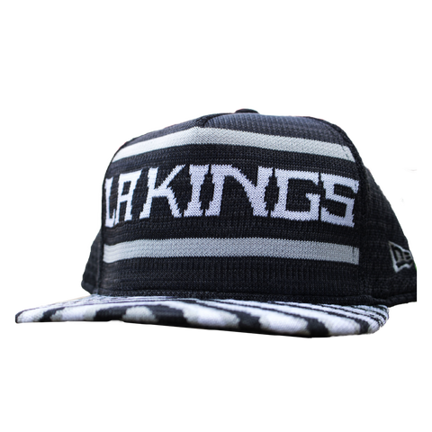 LA Kings 9FIFTY Fresh Front Zubaz Snapback Cap