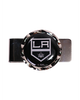 LA Kings Black Diamond Cut Money Clip - Black