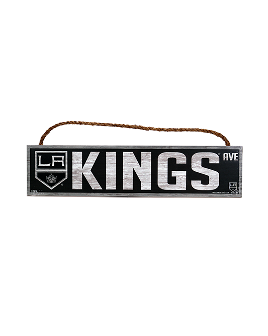 LA Kings 4x17 Street Sign Rope Sign
