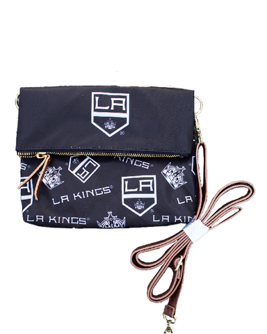 LA Kings Printed Foldover Tote