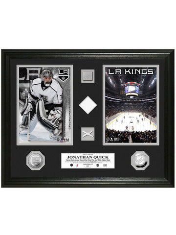 Los Angeles Kings Jonathan Quick Duo Game-Used Photomint