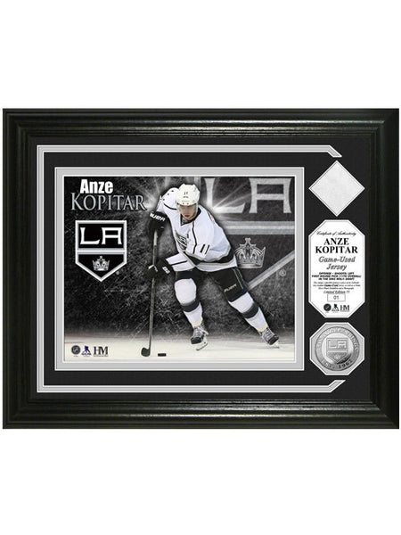 Los Angeles Kings Anze Kopitar Game-Used Photomint