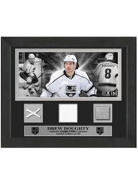Los Angeles Kings Drew Doughty Game-Used Desktop Frame