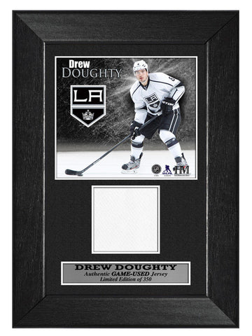 Los Angeles Kings Drew Doughty Game-Used Mini Frame