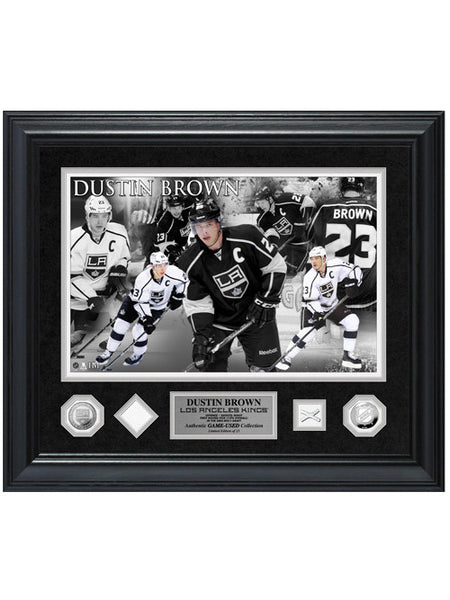 Los Angeles Kings Dustin Brown Game-Used Special Edition Photomint