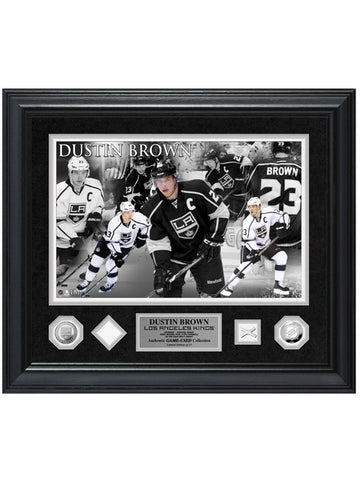 LA Kings Dustin Brown Game-Used Special Edition Photomint