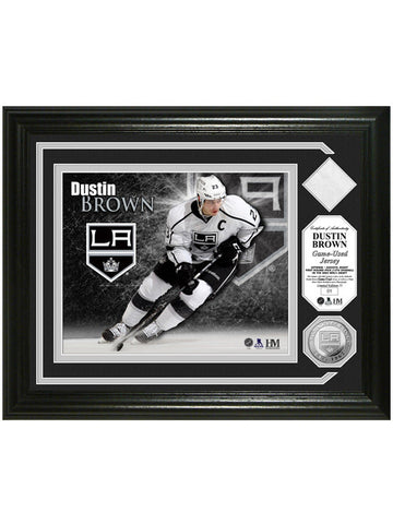 Los Angeles Kings Dustin Brown Game-Used Photomint