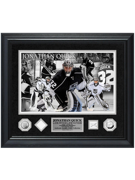 Los Angeles Kings Jonathan Quick Game-Used Special Edition Photomint