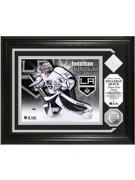 Los Angeles Kings Jonathan Quick Game-Used Photomint