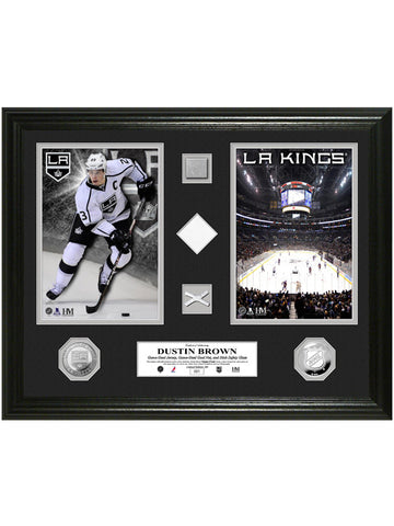 Los Angeles Kings Dustin Brown Duo Game-Used Photomint