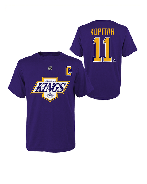 LA Kings Special Edition Youth Anze Kopitar Captain T-Shirt