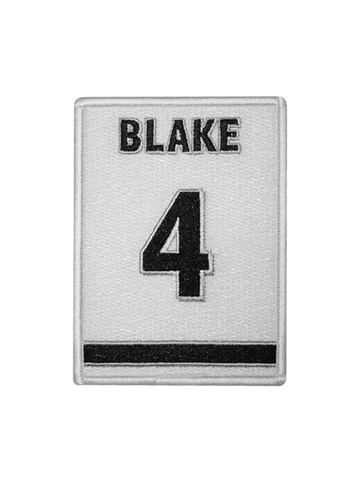 LA Kings Rob Blake Jersey Retirement Patch