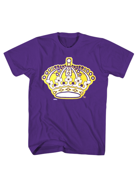 Los Angeles Kings Vintage Crown Short Sleeve T-Shirt