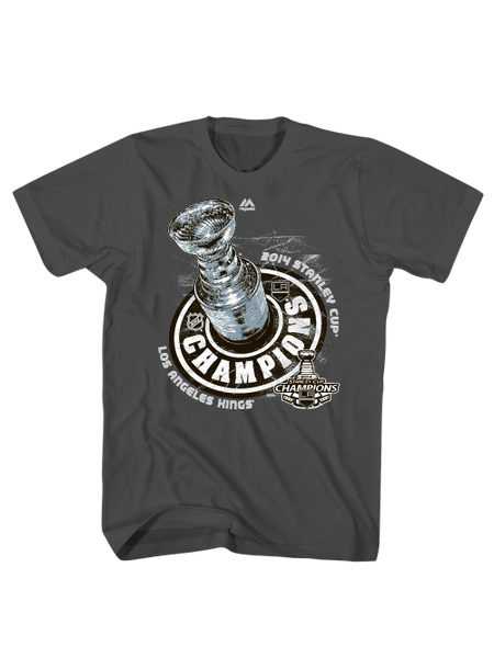 Los Angeles Kings Stanley Cup Champions Locker Room T-Shirt