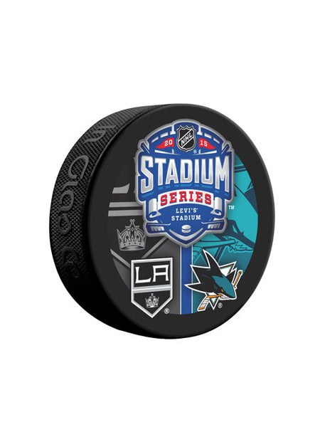 Los Angeles Kings 2015 Stadium Series Dueling Game Puck