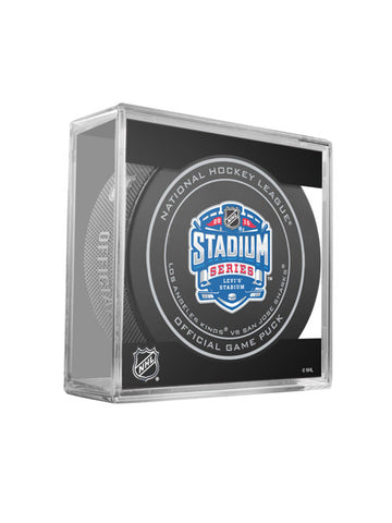Los Angeles Kings 2015 Stadium Series Official Game Puck