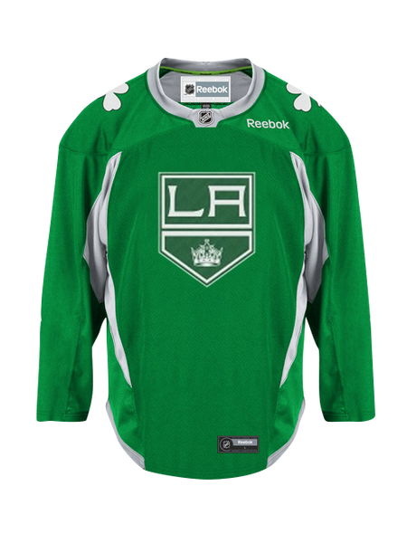 Los Angeles Kings St. Patrick's Day Practice Jersey