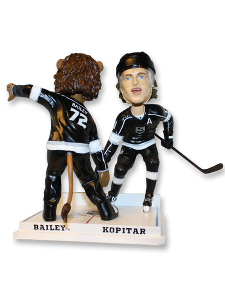 LA Kings Kopitar and Bailey Celebration Bobble