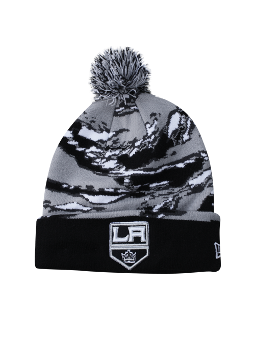 LA Kings Winter Tide Knit Cap With Pom