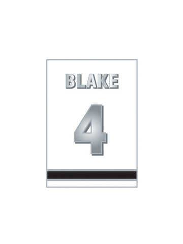 Los Angeles Kings Rob Blake Retirement Banner Pin