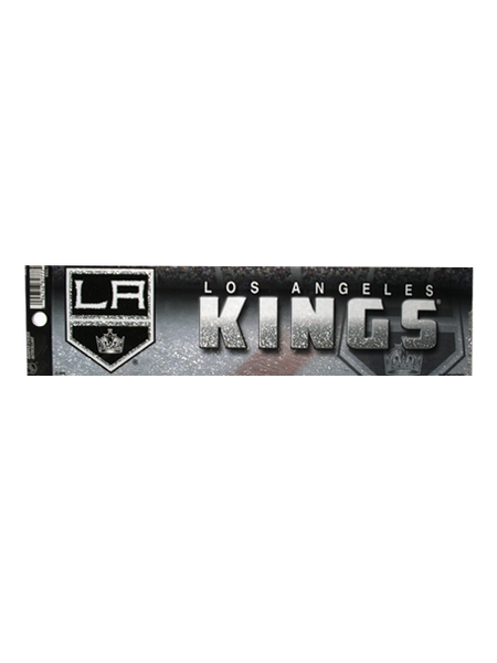 Los Angeles Kings Bling Bumper Sticker