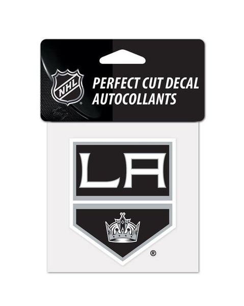 Los Angeles Kings 4x4 Diecut Shield Decal