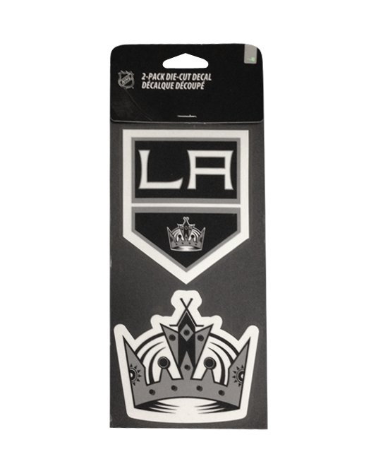 Los Angeles Kings Perfect Cut Decal Set of Two