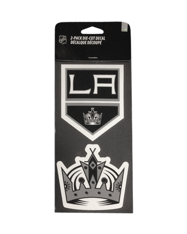 LA Kings Perfect Cut Decal Set of Two