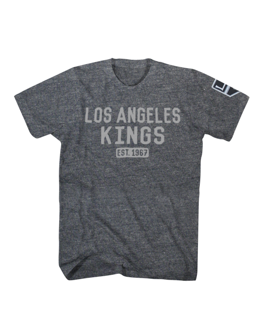 LA Kings Shield Logo Hoist T-Shirt