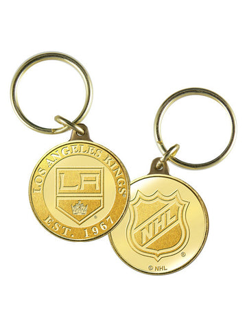 LA Kings Bronze Key Chain