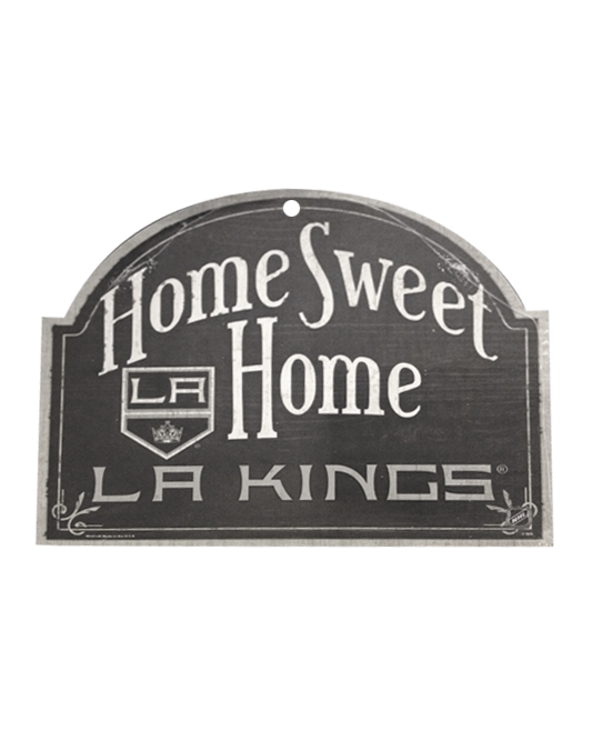Los Angeles Kings Wood Arched Sign