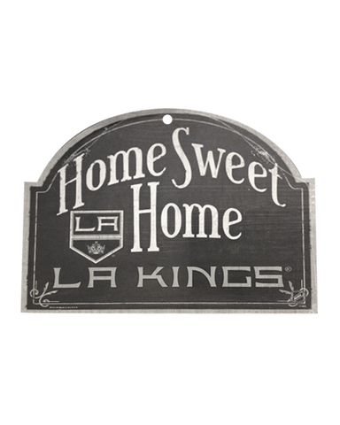 LA Kings Wood Arched Sign