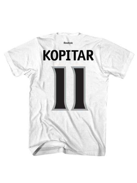 Los Angeles Kings Anze Kopitar Road Player T-Shirt