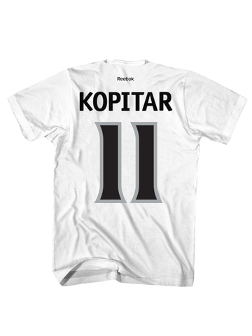 LA Kings Anze Kopitar Road Player T-Shirt