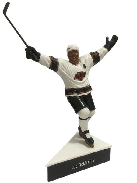 Los Angeles Kings Luc Robitaille Collectible Mini Statue