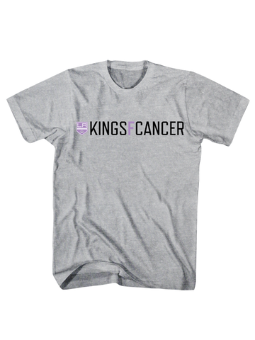 Los Angeles Kings HFC KINGSFCANCER T-Shirt - Grey