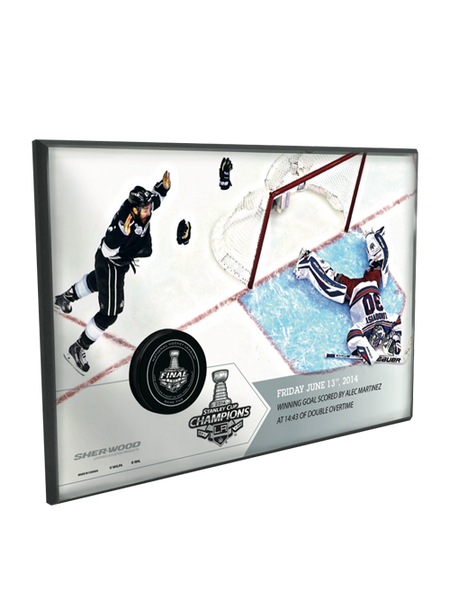 Los Angeles Kings Stanley Cup Champions Alec Martinez Game Winning Goal With Net Photomint