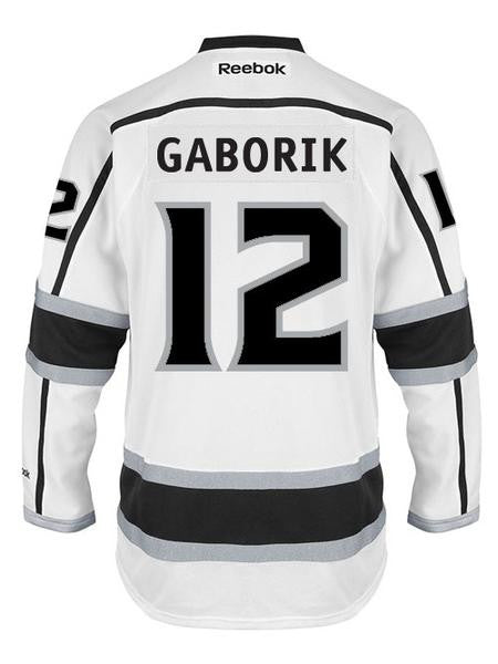 Los Angeles Kings Marian Gaborik Premier Road Jersey