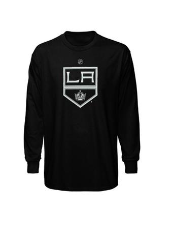 LA Kings Kids Logo Long Sleeve
