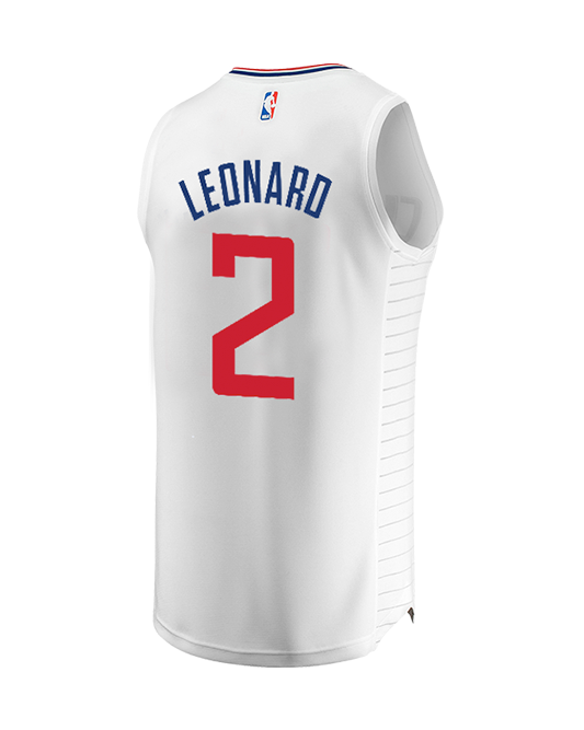 LA Clippers Youth Leonard Association Replica Jersey