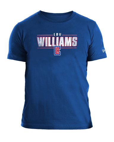 LA Clippers Lou Williams Distressed Name T-Shirt