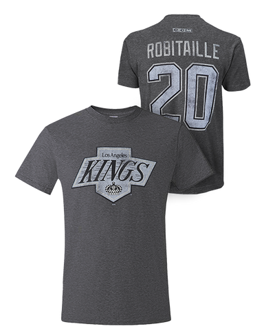 LA Kings Luc Robitaille Chevron Number T-Shirt