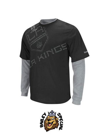 Los Angeles Kings Scrimmage Splitter Longsleeve T-Shirt