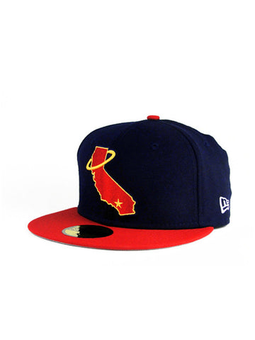 Los Angeles Angels Halo State Fitted Cap